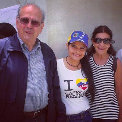 Resultado de imagen de padres de Henrique Capriles