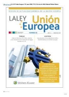 portada la ley UE 55