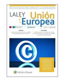 LA LEY Union Europea nº 60, junio 2018 portada