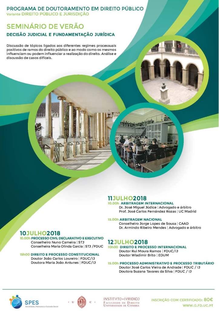 La Universidad de Coimbra organiza un Seminario de Verano sobre ... 8c5ee68af9e54