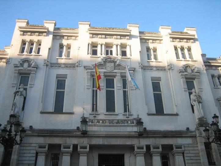 La-fachada-del-Tribunal-Superior-de-Justicia-de-Galicia.-Foto-archivo-Lasvocesdlepeblo