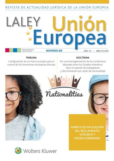 La Ley UE nº 69 abril (2)