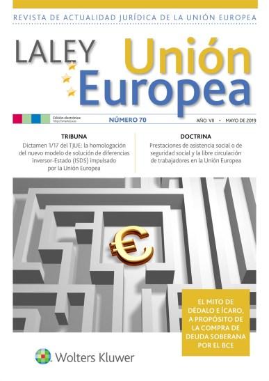 La Ley UE nº 70 mayo portada