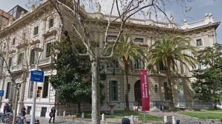 FACHADA DEL COL LEGI ADVOCATS  COLEGIO ABOGADOS DE BARCELONA  C  MALLORCA  281