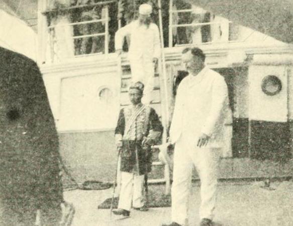 Sultan of Sulu Jamulul Kiram II - 1901